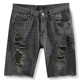 【MODE MAN】闇黑破壞牛仔短褲