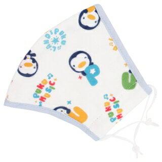 『121婦嬰用品館』PUKU 印花紗布口罩L  -藍 0