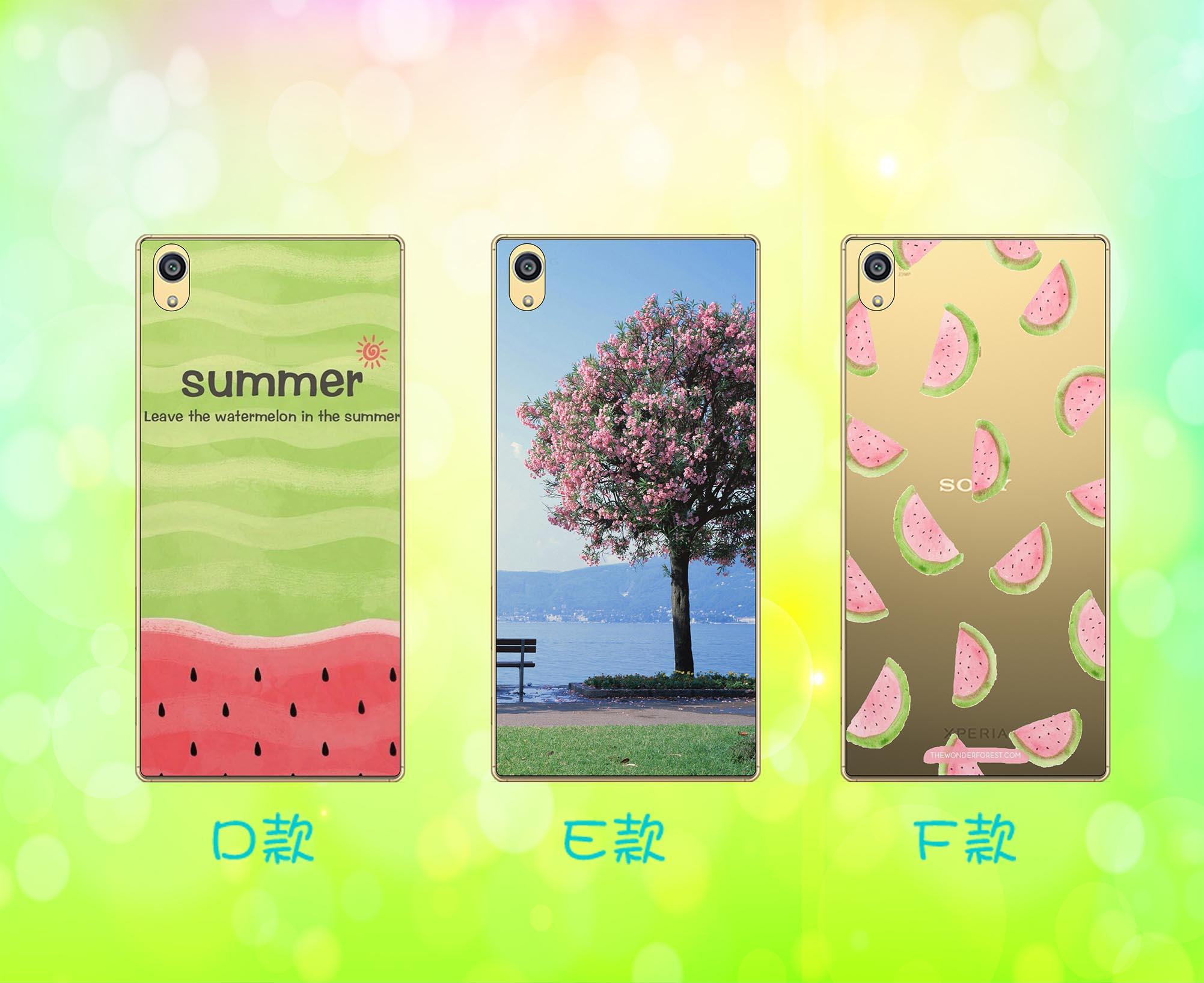[SONY] ✨ 夏日系列透明軟殼 ✨ 日本工藝超精細[Z2,Z3,Z4,Z5,Z5+,Z5C,C4,C5,M4,M5] 0