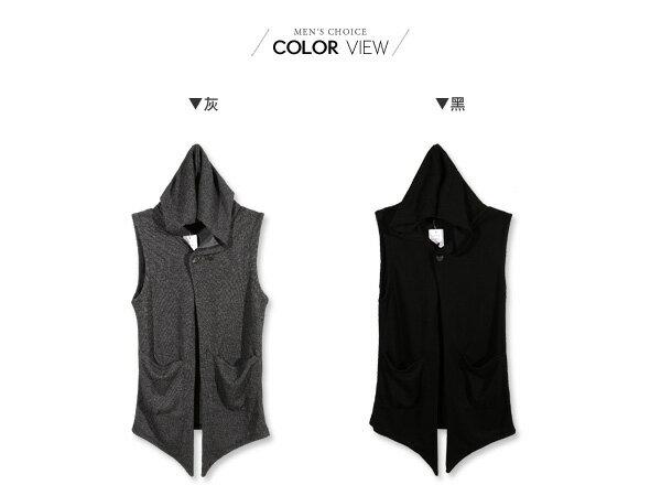 ☆BOY-2☆【NQ98041】韓版連帽針織背心外套 2