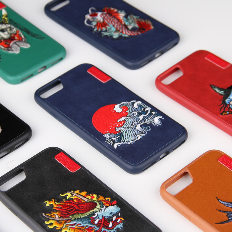 [預購]Skinarma IREZUMI iPhone 7 Plus刺繡背蓋 0