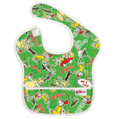 【淘氣寶寶】2016年最新 美國Bumkins防水兒童圍兜(一般無袖款6個月~2歲適用)-小紅車