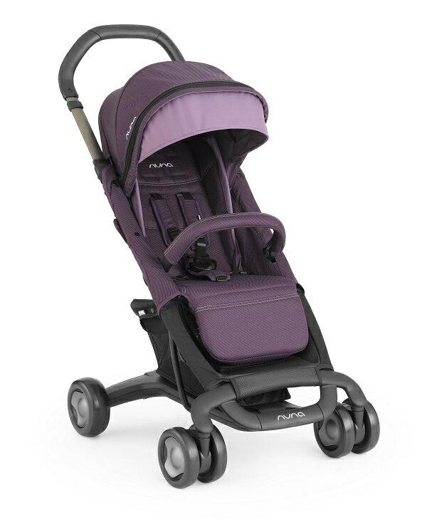 NUNA - Pepp Luxx時尚推車 (紫) 贈品牌手提袋+可愛玩偶吊飾+涼感小坐墊,加費雪聲光安撫長頸鹿! - 限時優惠好康折扣