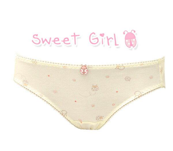 【依夢】森林甜心。少女三角褲(黃) 1