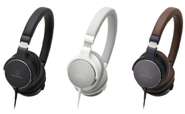 {音悅音響}audio-technica ATH-SR5 小耳罩頭戴式耳機 女聲 攜帶 msr7後繼