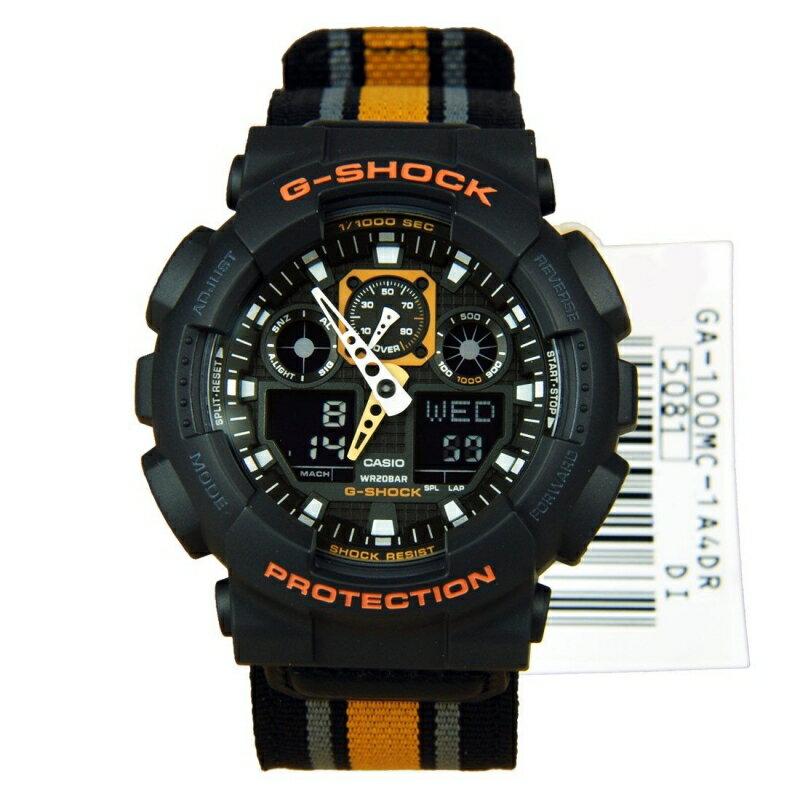 Casio G-Shock GA-100MC-1A4 0