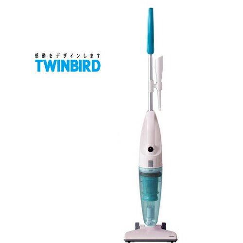 TWINBIRD 雙鳥 TC-5121TW (粉藍) 直立/手持式兩用吸塵器