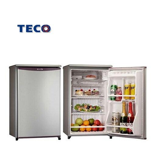 TECO 東元 R1061LA 單門冰箱 91L
