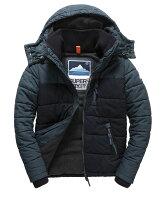 Superdry極度乾燥商品推薦[男款]英國代購 極度乾燥 Superdry Bluestone 男士鋪棉運動防水風衣休閒外套夾克 水洗灰