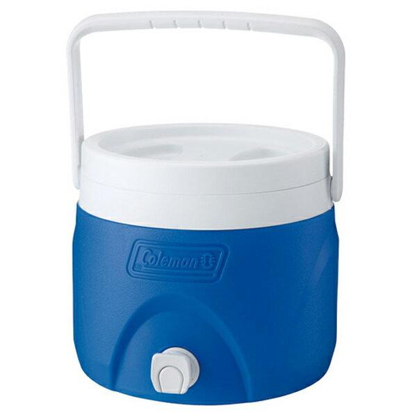 【鄉野情戶外專業】 Coleman |美國|  7.6L 置物型飲料桶/冰桶 保鮮桶 保冰箱-藍/CM-1363JM000