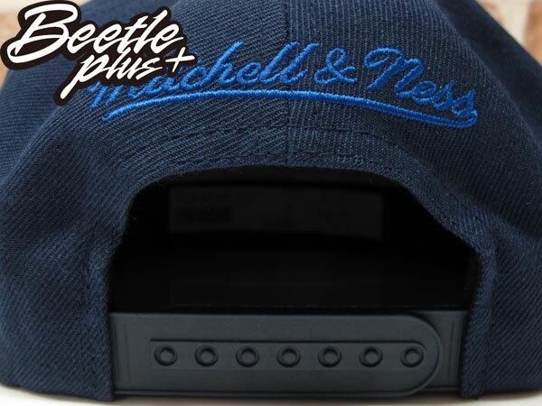 BEETLE PLUS MITCHELL&NESS NBA WARRIORS 美國職籃 舊金山 金州 勇士 CURRY 黑白 深藍 SNAPBACK 帽 後扣 棒球帽 總冠軍  2