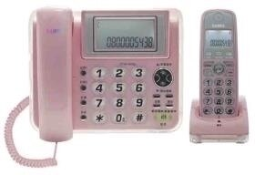 聲寶 CT-W1305DL2.4GHz高頻數位無線電話-粉