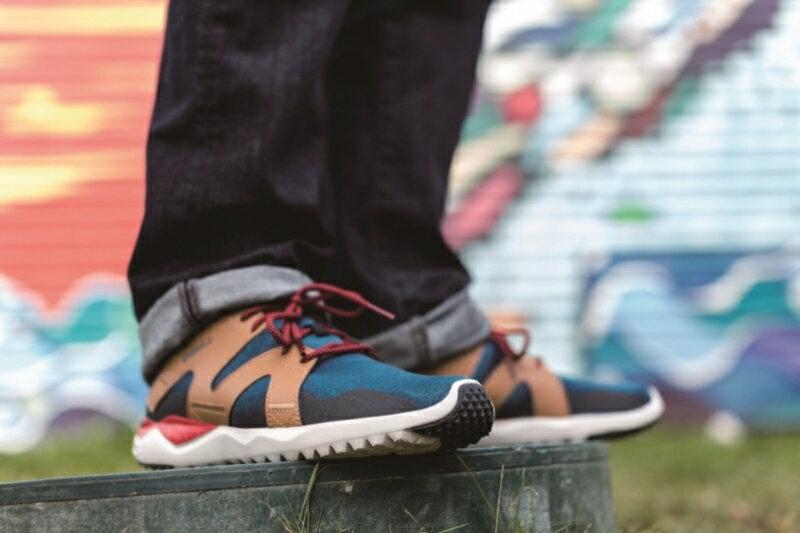 MERRELL 1SIX8 LACE 男 休閒鞋 藍咖啡 健行鞋│休閒鞋│運動鞋 2