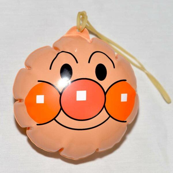 麵包超人 PVC 充氣小球 吊飾 附橡皮筋 日本正版