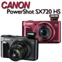 Canon佳能到【送16G記憶卡+副電(含盒內原電共2)+清潔好禮組】Canon PowerShot SX720 HS【公司貨】ATM/黑貓貨到付款 加碼送專用鋰電池