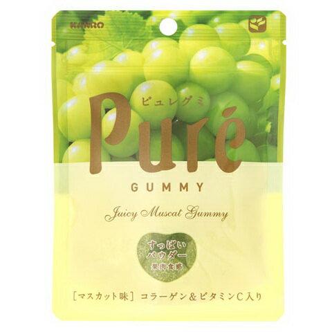 Kanro甘樂PURE青葡萄果凍軟糖 (56g)