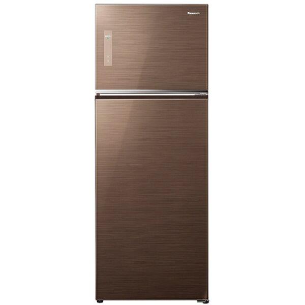 【國際牌Panasonic】ECONAVI 422L雙門變頻電冰箱。翡翠棕/(NR-B427TG/NR-B427TG-T)