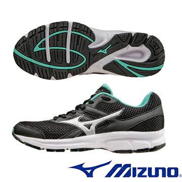 K1GA160404(黑X銀)一般型鞋款MIZUNO SPARK 女慢跑鞋 A【美津濃MIZUNO】