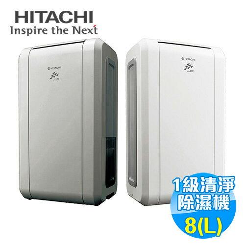 【預購】日立 HITACHI 8公升 銀負離子感溫除濕機 RD-16FS/RD-16FG