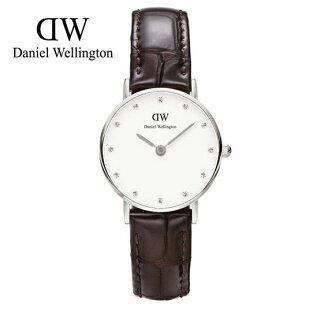 瑞典正品代購 Daniel Wellington 0922DW 銀 玫瑰金  真皮 錶帶 男女錶 手錶腕錶 26MM