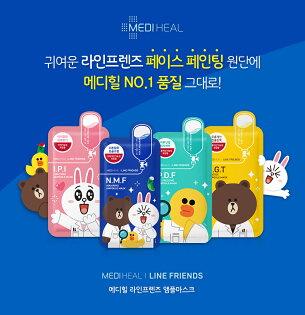韓國 Mediheal X LINE Friends 限量聯名款 針劑面膜 單片 27ml【特價】§異國精品§
