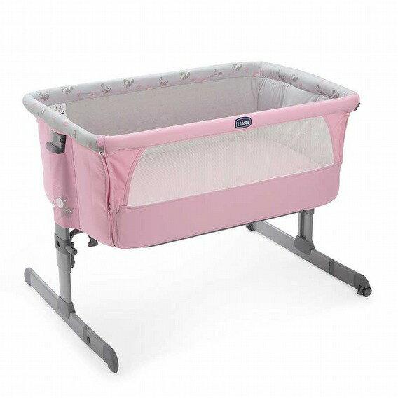 義大利【Chicco】Next 2 Me多功能移動舒適嬰兒床(童話粉)*新色上市 - 限時優惠好康折扣