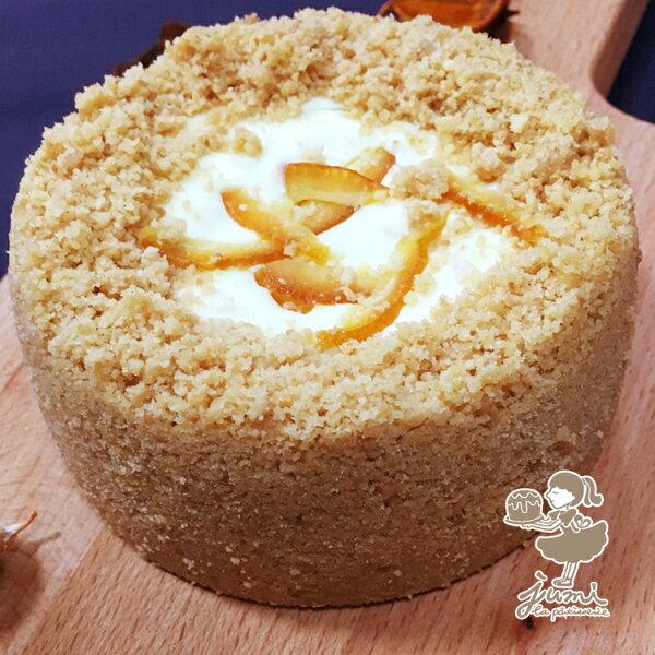jumi法式甜點-柑橘乳酪蛋糕-四吋