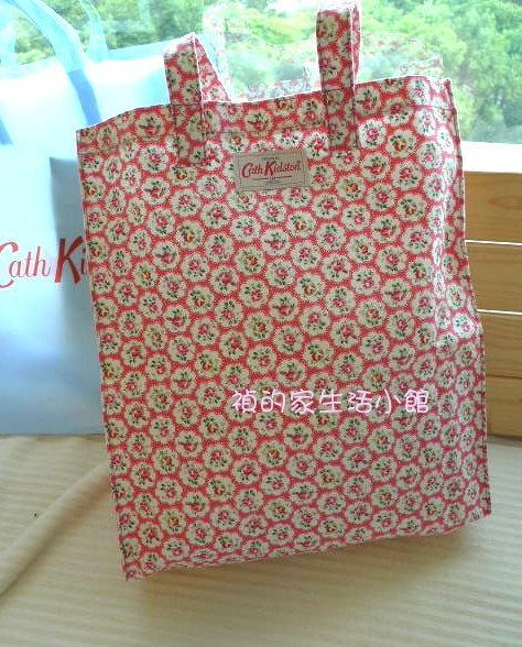 ^~Realhome^~英國 Cath Kidston 布料 袋 甜美玫瑰花 ~  好康折
