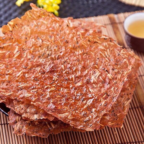 [小豬農莊]杏仁薄脆片肉紙(櫻花蝦芝麻口味) 1