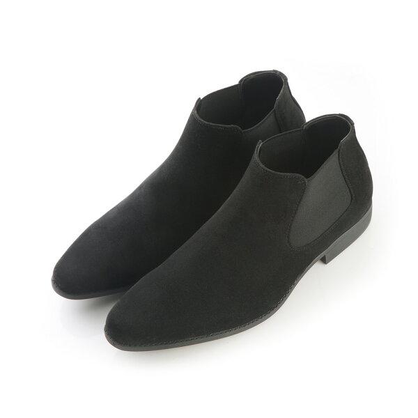 2MUCH麂皮切爾西短筒靴(40-44)