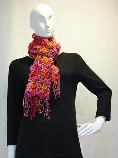 Ysanne ~冬季必備立體網格圍巾L005