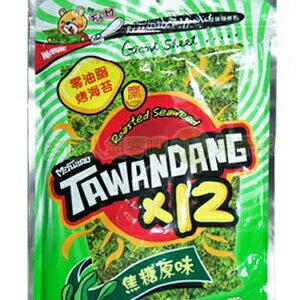 泰國正宗 小浣熊烤海苔零油脂素食可食用焦糖原味[TA001] 0