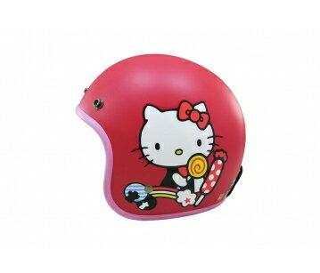 《EVO》智同 CA-308 糖果Kitty 3/4 半罩式 安全帽 LAUS(訂)