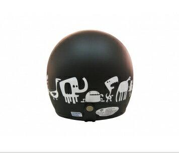 《EVO》智同 CA-309 Monster Zoo 動物園 3/4 半罩式 安全帽 LAUS(訂)