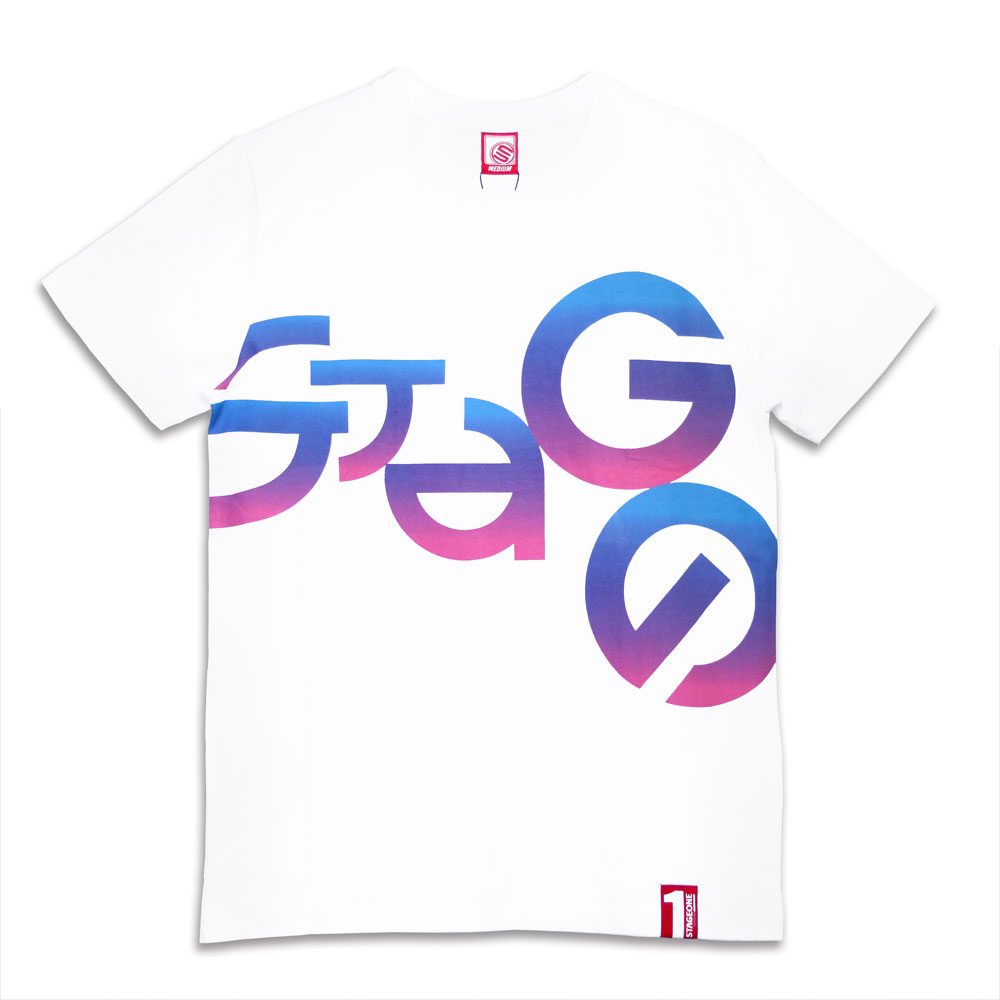 STAGEONE LETTERS TEE 黑色 / 白色 兩色 5
