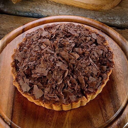 香蕉巧克力乳酪派(6吋)★蘋果日報 母親節蛋糕【布里王子】