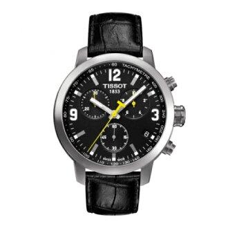 TISSOT天梭T0554171605700  PRC200石英計時腕錶/黑面42mm