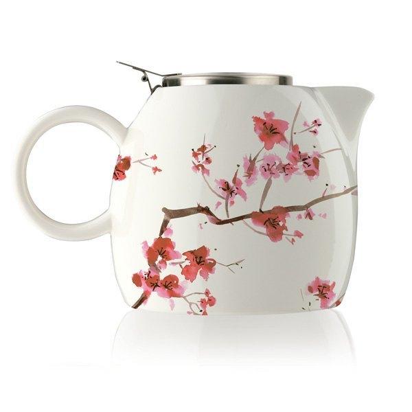 Tea Forte 普格陶瓷茶壺 - 櫻花 Cherry Blossoms 0