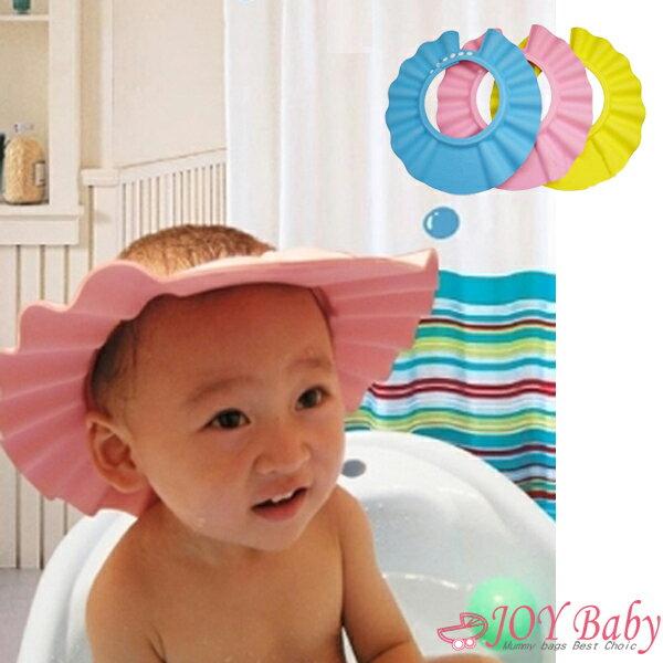 洗頭帽/洗髮帽/兒童專用洗澡帽 /擋水童浴帽兒童洗髮精【JoyBaby】