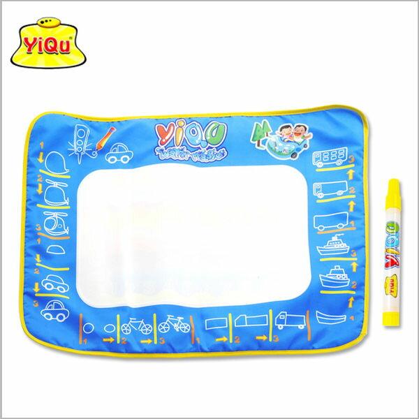彩色版交通工具兒童神奇水魔法畫布水寫繪畫布寫字塗鴉毯環保繪畫毯墊可重複使用【JOY Baby】