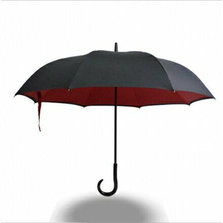 反向傘 4色可選-碳纖結構雙層布防雨防曬外收反轉傘/新型弧面 上收設計 反收傘 1