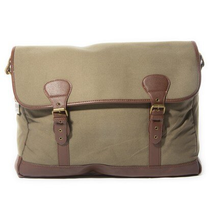 Urban Country Canvas Half Flap Bag (sand) 0