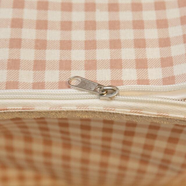 粉蘇格蘭衣物收納 50cmx45cmx25cm 可收納雜物 小物 3