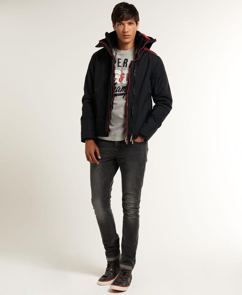 [男款] 英國代購 極度乾燥 Superdry Arctic 男士風衣戶外休閒 外套夾克 防水 防風 保暖 黑色/紅色 3
