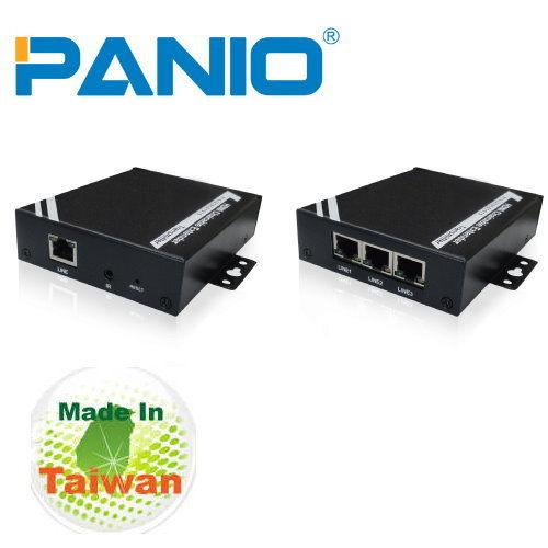 *╯新風尚潮流╭*PANIO HDMI延長器-100m CAT6技術與電子看板結合達1080P輸出 HD1000&HD1002