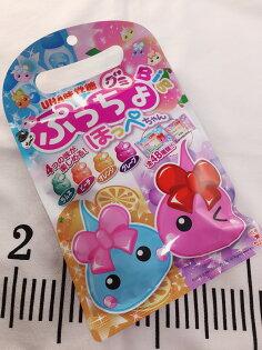 【13本舖】UHA味覺糖 噗啾水蜜桃汽水QQ糖