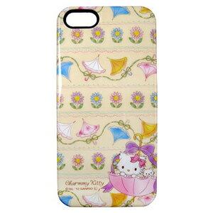 iPhone5S 三麗鷗 Charmmy Kitty 繽紛洋傘 手機硬殼 Enya恩雅^(