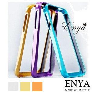 iPhone5S 多色炫彩鋁合金無螺絲版 手機殼 Enya恩雅(郵寄免運)