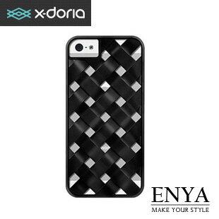 iPhone5S X-doria正品EngageForm立體竹編斜紋外殼手機殼 Enya恩雅(郵寄免運)