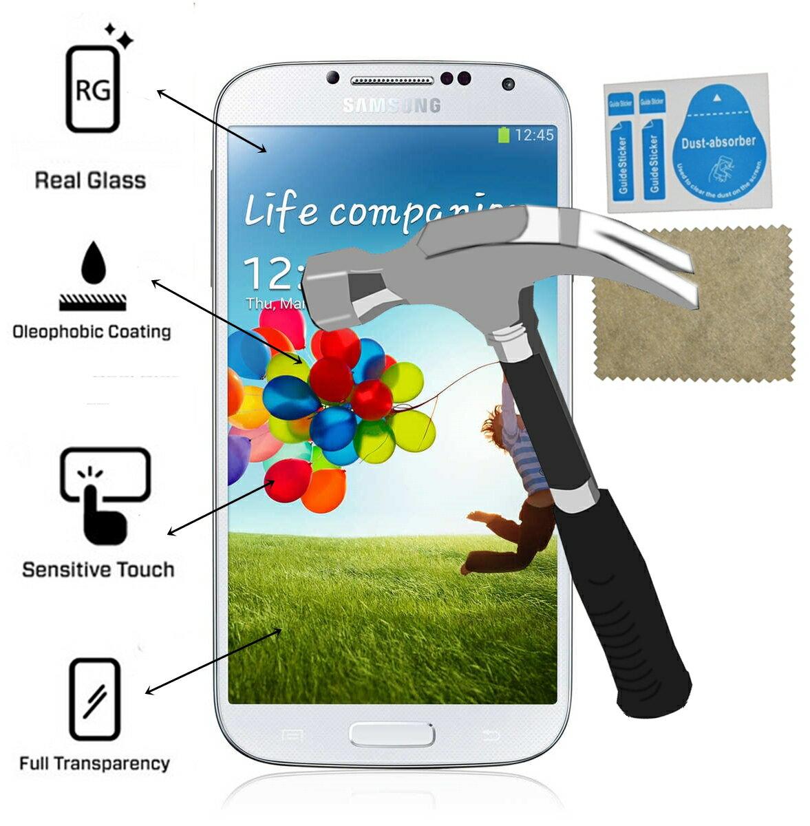 Protector Pantalla Cristal Templado Samsung Galaxy S4 mas kit instalacion perfecta 0